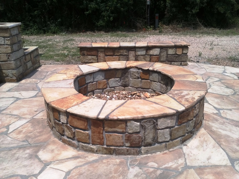 Katy Outdoor Fireplace