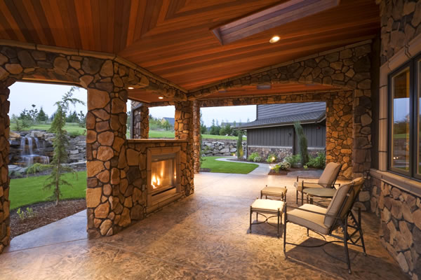 Katy Outdoor Fireplace And Firepit