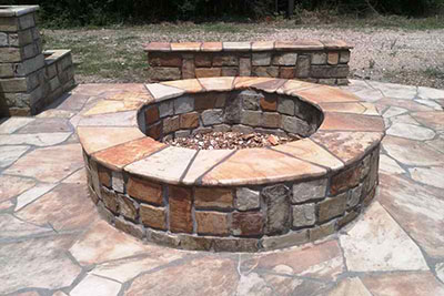Katy Patio Our Work Fireplaces And Fire Pits